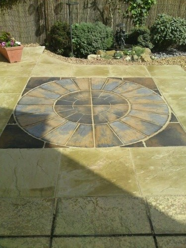Full Radius Patio Paving Sand